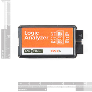 USB Logic Analyzer - 25MHz/8-Channel