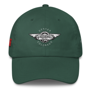Spruce Green Veedverks Racing Carl Long #66 Classic Cap, Front