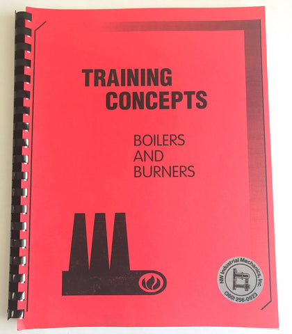 Training Concepts Boilers and Burners , Training Manual, NWIM