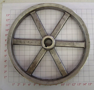 "15"" x 1-1/2"" x 2Belt  Alum. Pulley"