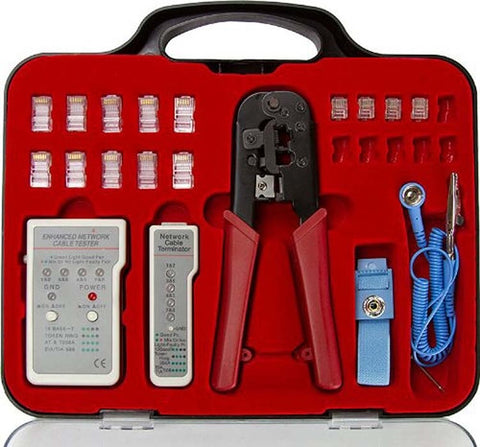25 Piece Computer Network Repair Kit
