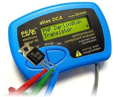 Peak Atlas DCA55 Semiconductor Tester