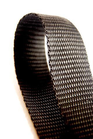 Black 50mm Polypropylene Webbing