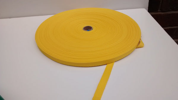 POLYPROPYLENE WEBBING ROLL - 12MM