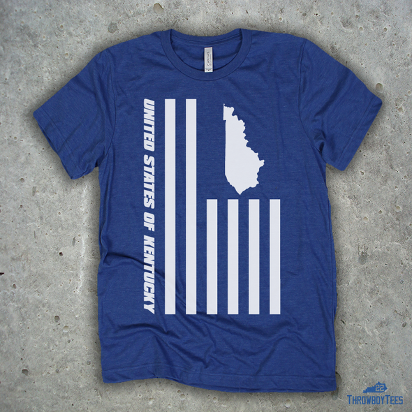 US of Kentucky - Blue Tee