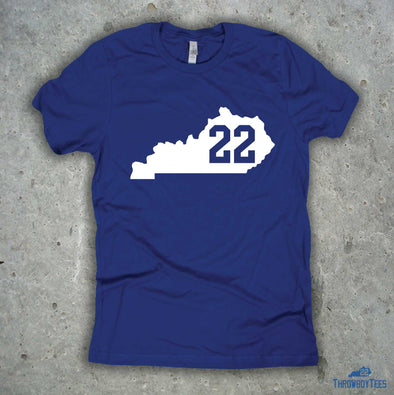 Kentucky Number Tee - #22