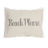 Beach Please Pillow with Insert