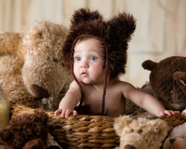 Newborn Photoshoot Baby Hats
