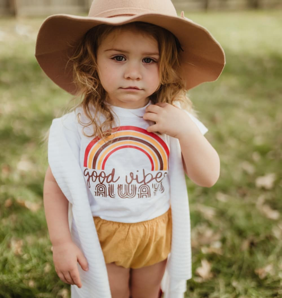 Good Vibes Always Kids Tee