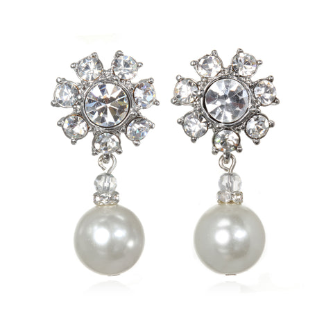 Chambord Pearl Drop Earrings