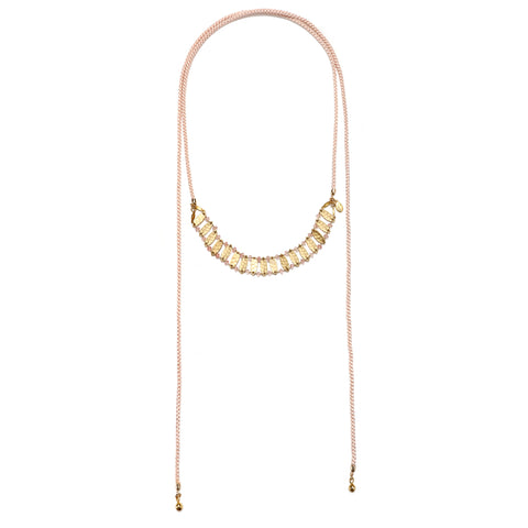 Blush Mustique Statement Choker Necklace