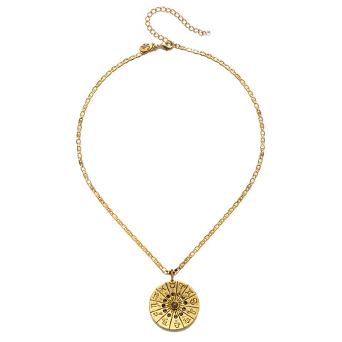 Universal Astrology Talisman Medallion Necklace