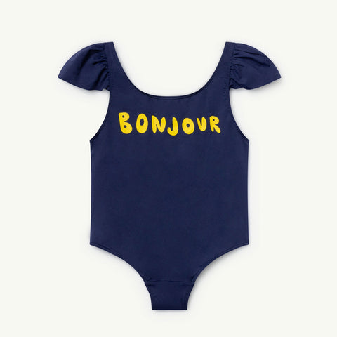 Octopus Kids Swimsuit in Bonjour by The Animals Observatory