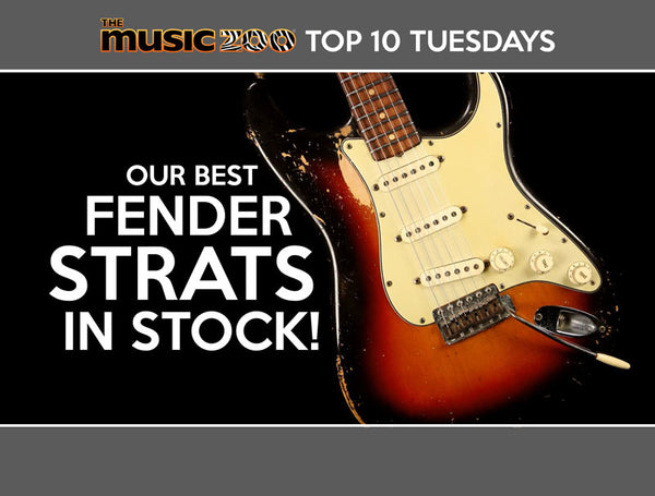 Top 10 The Music Zoo Stratocasters