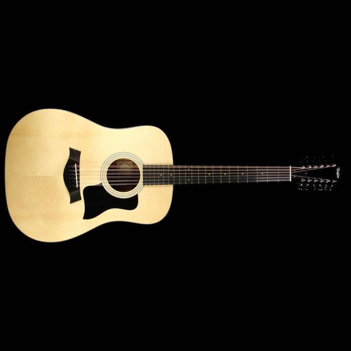 Taylor 150e Walnut Dreadnought 12 String Acoustic-Electric Guitar Natural F100100011005151000