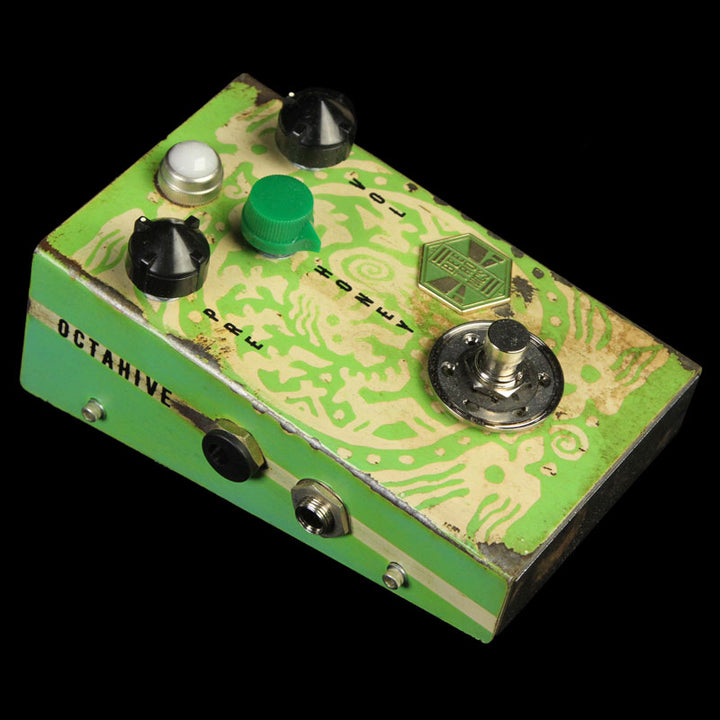 Beetronics Octahive Octave Fuzz Custom Series Green Haze Effects Pedal