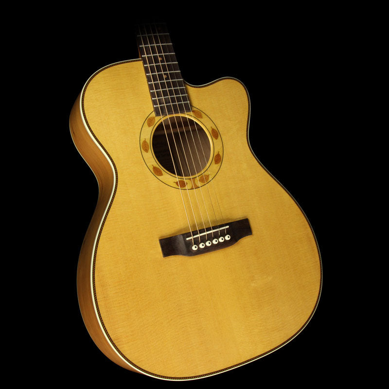 Used Martin OMC Sustainable Cherry Acoustic Guitar Natural 1699698