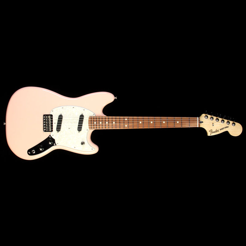 Fender Mustang Electric Guitar Shell Pink 0144043556