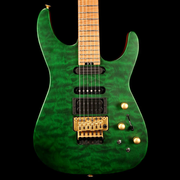 Jackson USA PC1 Matte Phil Collen Trans Green 2017 XN009460