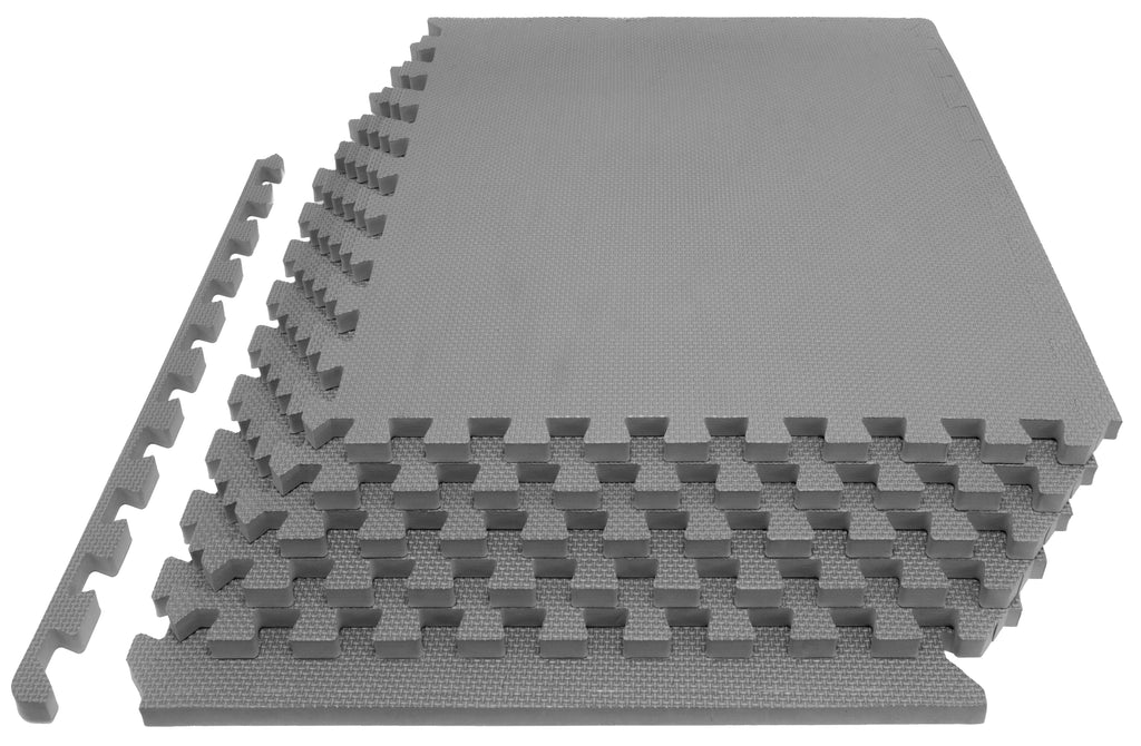Exercise Puzzle Mat 1 inch Grey