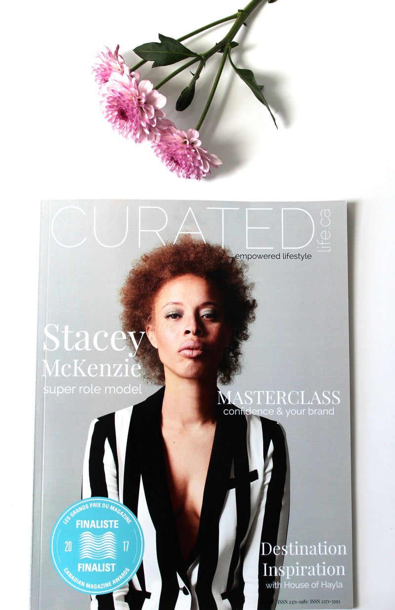 Feature in Curated Life Magazine
