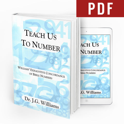 Teach Us To Number - Ebook - Verity & Charity Publications