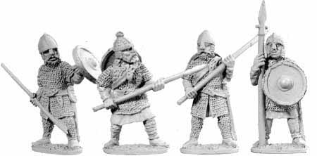 Saxon Huscarles with Spears II (4)