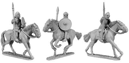 Saxon Cavalry Armoured Spearmen (3)
