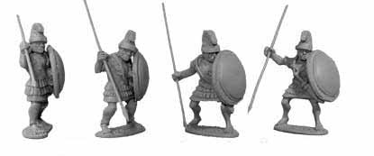 Greek Elite Armoured Hoplites (4)