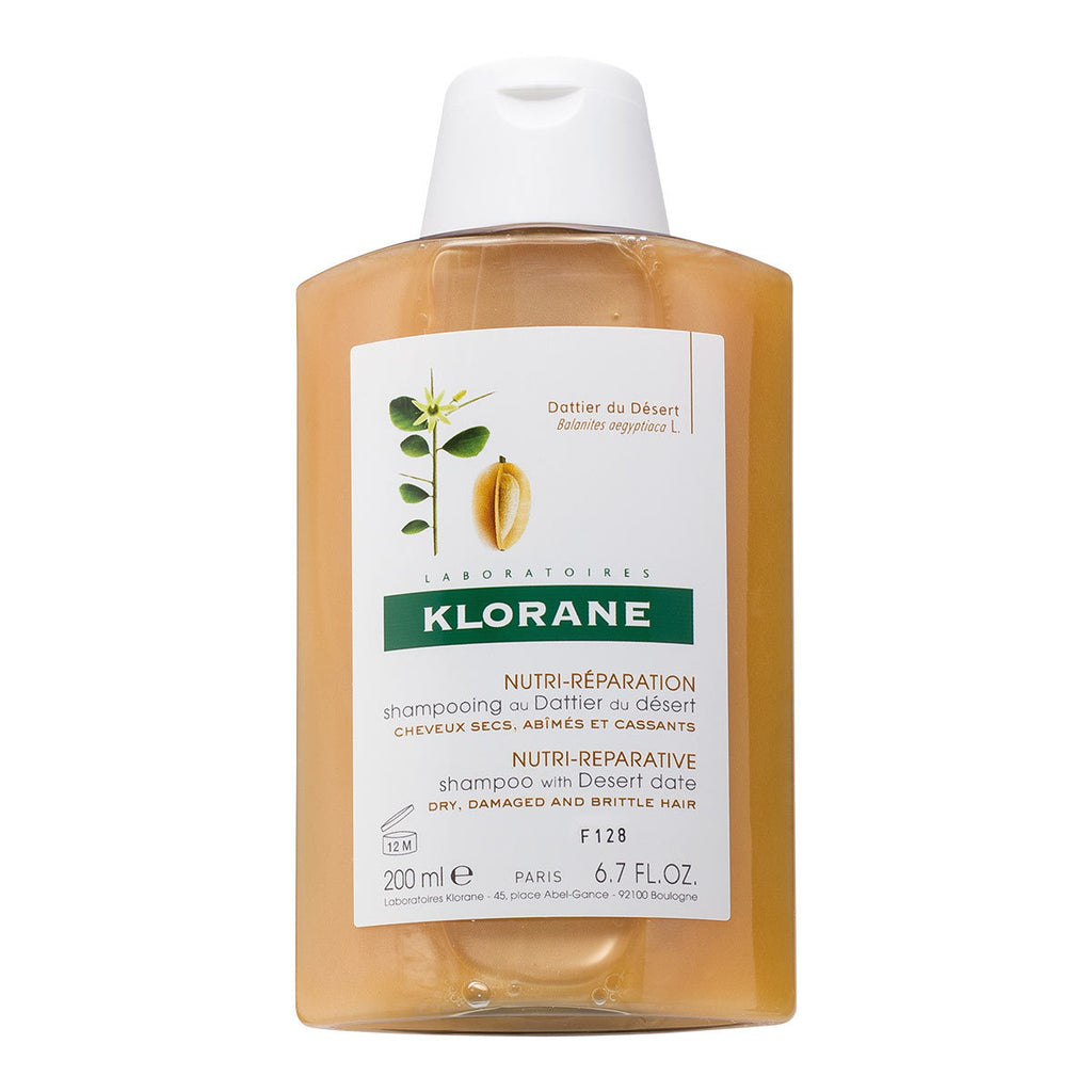 Klorane Desert Date Shampoo For Brittle And Stressed Hair 200ml