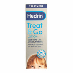 Hedrin Treatment Treat & Go Lotion 50ml (Pack Of 3)