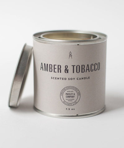 Amber & Tobacco Candle