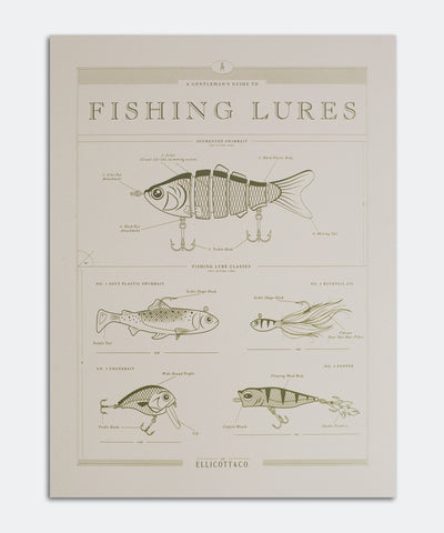 Fishing Lures Poster