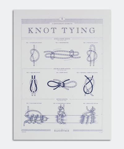 Knot Tying Poster