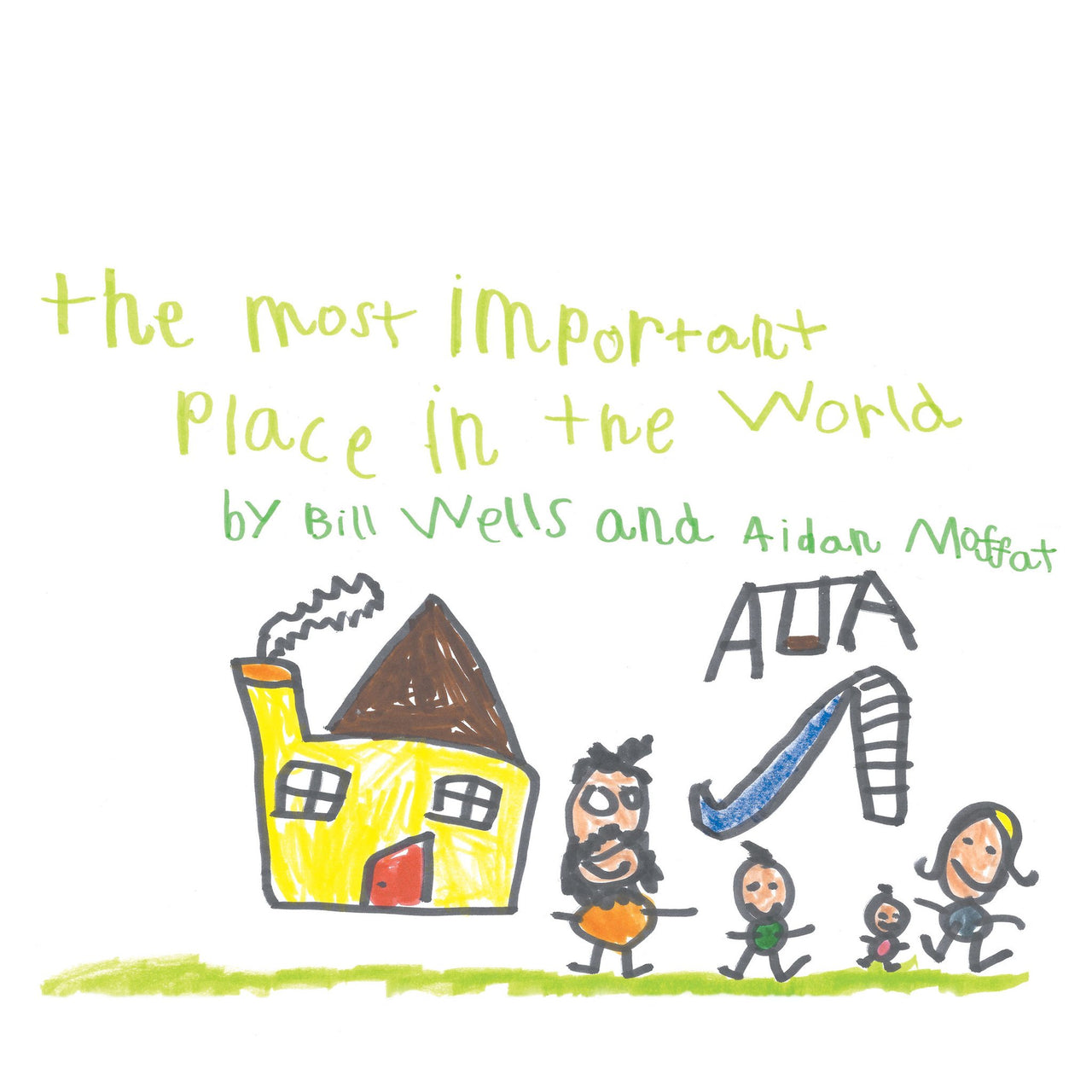 Bill Wells & Aidan Moffat - The Most Important Place in the World LP - Braw Wee Emporium