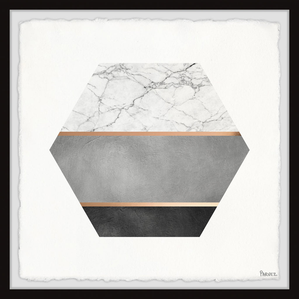 Hexagon Marble