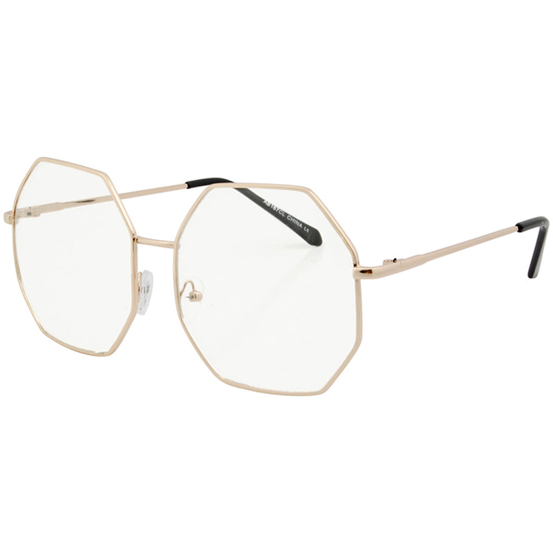 alto gold clear sunglasses