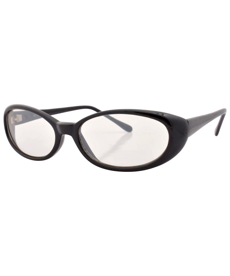 bippy black clear sunglasses