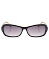 bitsy black white sunglasses