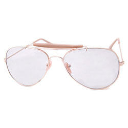 cx officer gold sunglasses