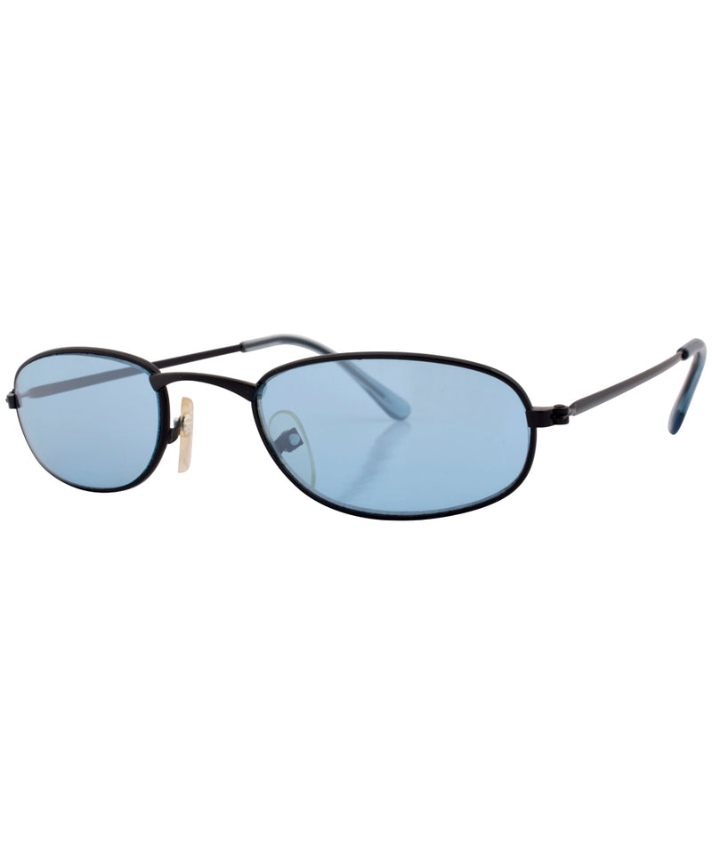 emotion black blue sunglasses