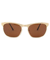 gods matte gold sunglasses