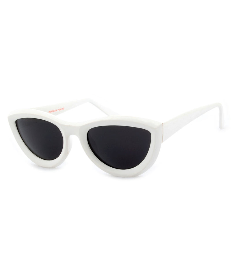 quinn white sunglasses