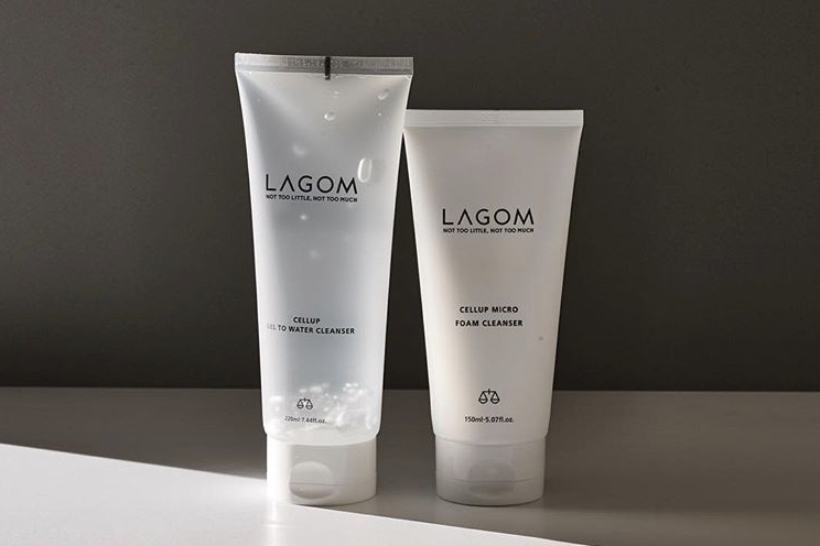 REVIEW: LAGOM'S AM AND PM FACIAL CLEANSERS