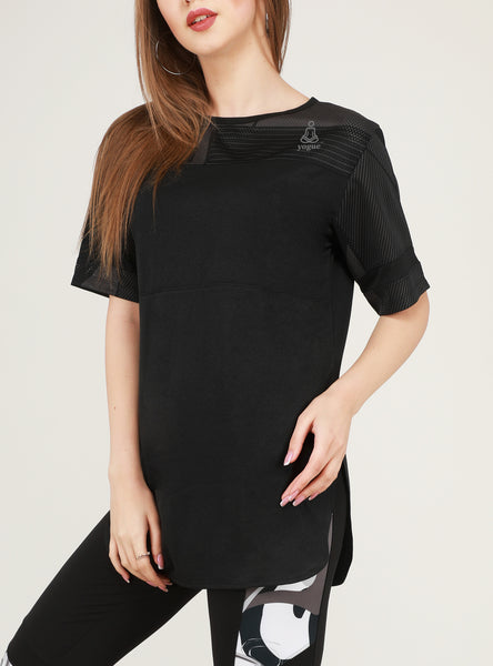 Black Long T-Shirt
