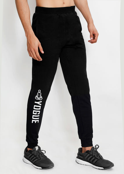 Black Yogue French Terry Joggers