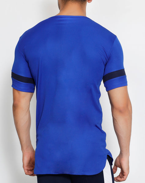 Royal Blue Long T-Shirt