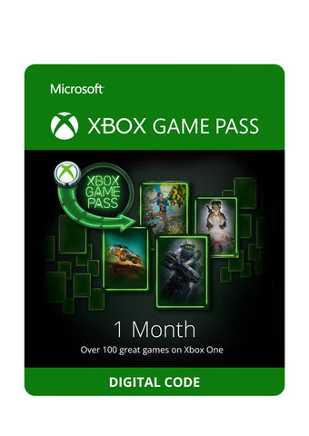 XBOX Game Pass 1 Month Key