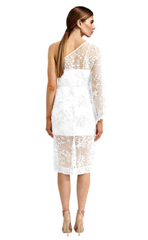 Asilio - Wysteria Lace  One Shoulder Dress