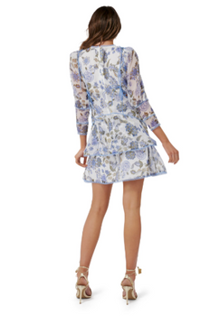 Thurley - Bluebell Print Mini Dress